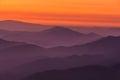 Mountain layers a encartaciones bizkaia spain Royalty Free Stock Images