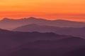 Mountain layers a encartaciones bizkaia spain Stock Photo