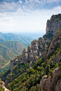 Mountain near Montserrat. Catalonia, Spain Stock Images
