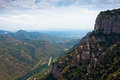 Mountain near Montserrat. Catalonia, Spain Stock Photo
