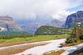 Mountain pass after a summer storm Royalty Free Stock Photos