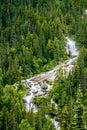 Mountain range inn british columbia alaskan rockies Royalty Free Stock Photo