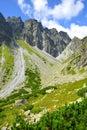 Mountain ridge Bast, Slovakia