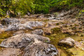 The mountain river in the crimea grand canyon of ukraine Stock Photos