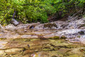 The mountain river in the crimea grand canyon of ukraine Stock Photo