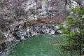 Mountain river Prut Royalty Free Stock Photo