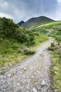 Mountain road in Ireland Royalty Free Stock Photo