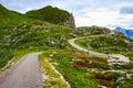 Mountain road Julian Alps Royalty Free Stock Photo