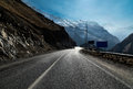 Mountain roads Royalty Free Stock Photo