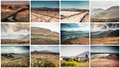Mountain roads, views and sights of Lanzarote Royalty Free Stock Photo