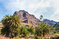 Mountain scene at Masca, Tenerife Stock Photography
