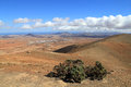 Mountain scenery landscape fuerteventura spain Royalty Free Stock Images