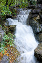 Mountain small waterfall Royalty Free Stock Photos