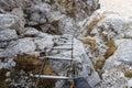 Mountain stairway Royalty Free Stock Photo