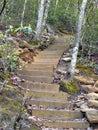 Mountain Steps Royalty Free Stock Photo