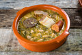 Mountain stew. cocido montanes Royalty Free Stock Photos