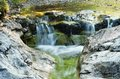 Mountain stream in dolina bialego tatra mountains poland Stock Photography