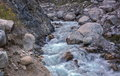 Mountain stream. Royalty Free Stock Photo