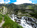 Mountain Stream In High Tatras...