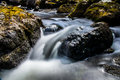 A mountain stream montain rock water Royalty Free Stock Images