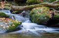 Mountain stream a in the smoky mountains national park near gatlinburg tennessee Royalty Free Stock Photography