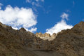 Mountain the of tibet china Royalty Free Stock Photo
