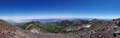 Mountain Top Panorama Royalty Free Stock Photo