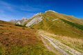 Horský chodník v Belianských Tatrách