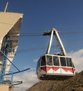 Mountain tram Stock Photo