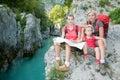 Mountain trek Royalty Free Stock Photo