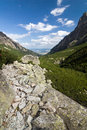 Mountain valley in summer national park high tatras slovakia europe Royalty Free Stock Image