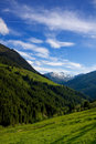 Mountain view in Austria Royalty Free Stock Photo