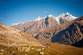 Mountain View of Himalayas Royalty Free Stock Images
