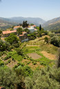 Mountain village in Crete Royalty Free Stock Image