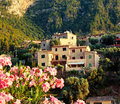 Mountain village deia in mallorca balearic island spain Stock Image