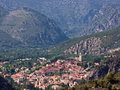 Mountain village, French Pyrenees Stock Images