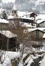 Mountain Village, Italy Royalty Free Stock Photo