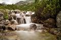 Mountain water in Mlynicka valley near Strba tarn.