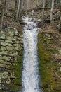 Mountain Waterfall in Goshen Pass