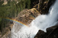 Mountain waterfall krimml alps beautiful austria spring krimmler wasserfälle Stock Photography
