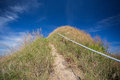 Mountain the way of climax slope have a way for walk Royalty Free Stock Photo