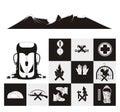 Mountaineering Icon Set