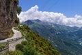 Mountainous road in Tzoumerka, Epirus, Greece