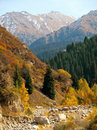 Mountains autumn Royalty Free Stock Photo