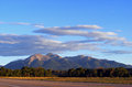 Mountains clouds and near salida co Royalty Free Stock Photography