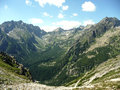 Mountains high tatras view of the slovakia Royalty Free Stock Images