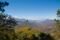 Mountains on the island of gran canaria