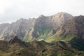 Mountains of the island of Sao Nicolau, Cape Verde