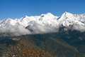 The mountains in krasnaya polyana sochi russia see my other works portfolio Stock Photography