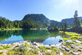 Mountains lake Royalty Free Stock Photo